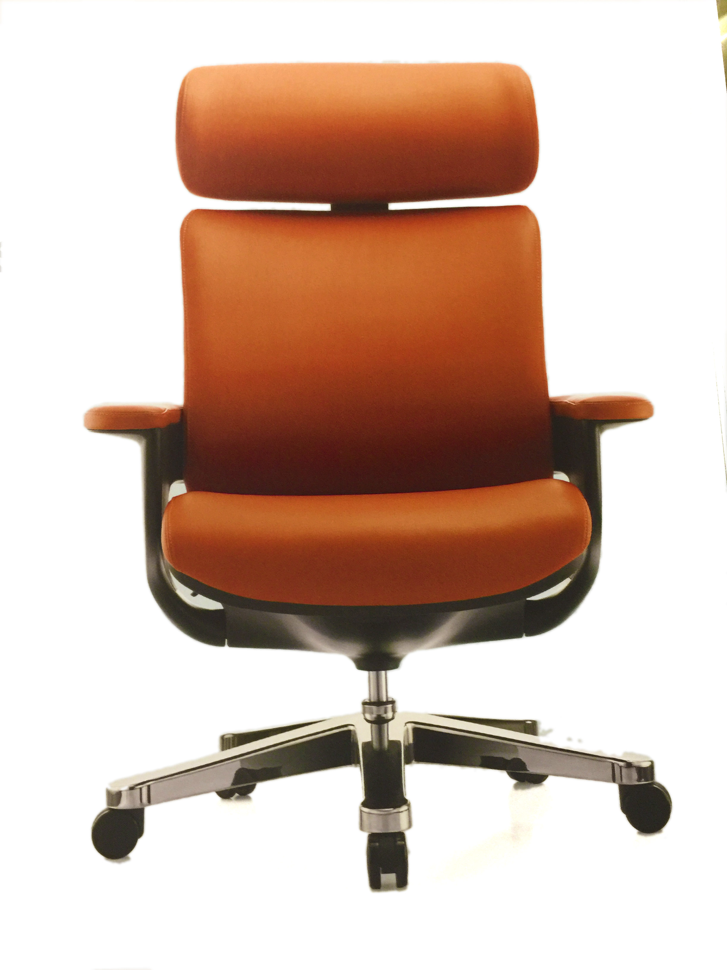 CP All Steel 1 Leather High Back fice Chair – fice Chairs