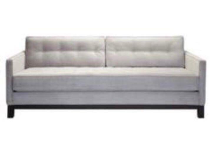 2/3 Seater Sofa With Hard Foam In Seat And Back Cushion U2013 White Colour