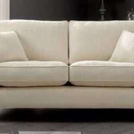 two seat sofa white