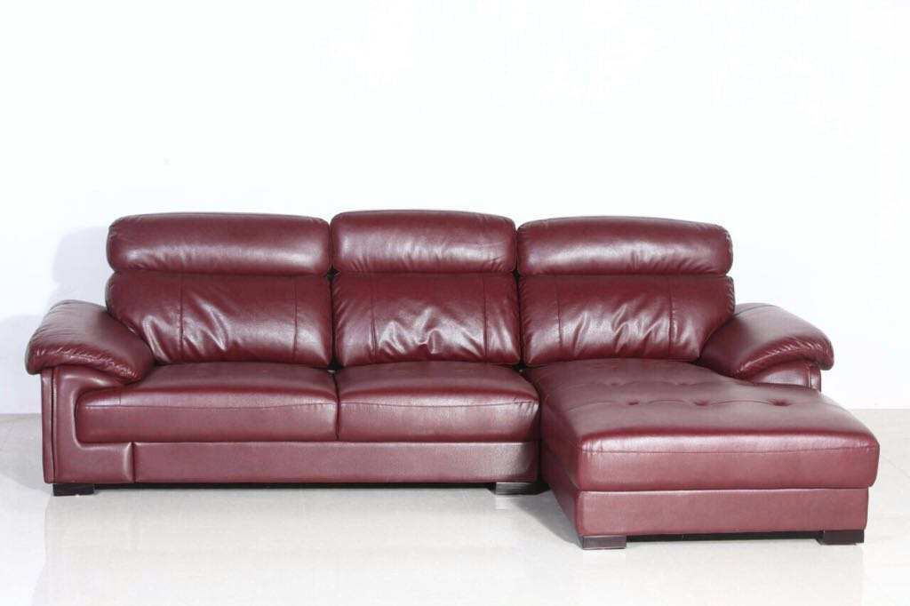 3 Seater L Type Sofa with Super Soft Foam in Seat and Back ...